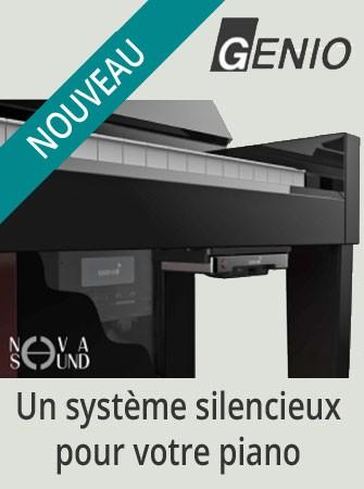 Un système silencieux pour votre piano